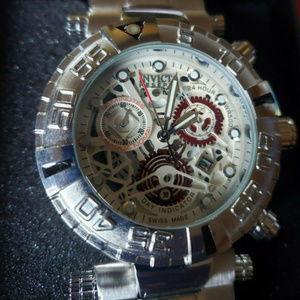 Invicta Men's 46MM Swiss Mechanical Chrono Watch